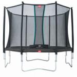 BERG trampoline Favorit Grijs - met veiligheidsnet Comfort 330cm