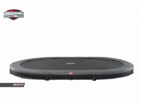 BERG InGround trampoline Grand Favorit Grijs 520x340cm