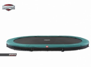 BERG InGround trampoline Grand Favorit Groen 520x340cm