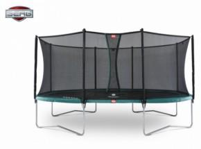 BERG trampoline Grand Favorit Groen - met net Comfort 430cm