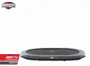 BERG InGround trampoline Grand Elite Grijs 520x340cm