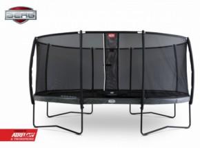 BERG trampoline Grand Elite Grijs - met safetynet Deluxe 520x340cm
