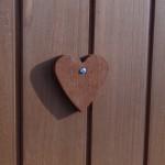 Konijnenhok Holiday Large met een hartje