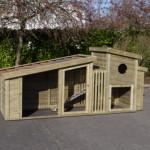 Kippenhok duurzaam en onderhoudsvrij