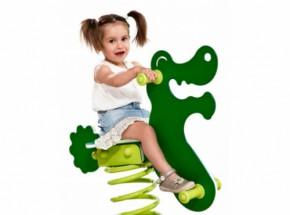 Wipkip | Veerwip | Wip | Veertoestel Krokodil met voetplaat
