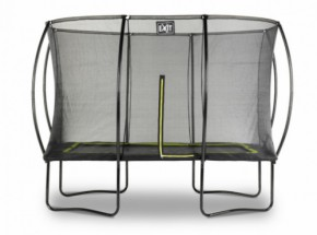 Trampoline EXIT Silhouette met veiligheidsnet 214x305cm (7x10ft)