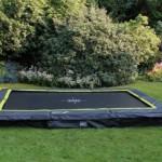 Ingraaf trampoline rechthoek - EXIT Silhouette Rectangular