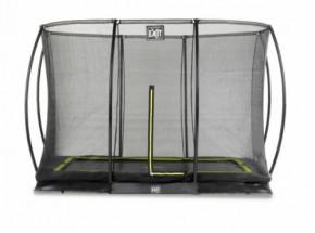 Trampoline EXIT Silhouette Ground met veiligheidsnet 244x366cm (8x14ft)