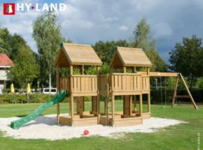 Hy-Land speeltoestel P7S met schommelaanbouw