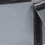 Trampoline EXIT Elegant Premium Rectangular - rand grijs