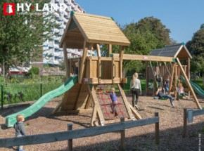 Hy-Land speeltoestel Q2S met schommelaanbouw