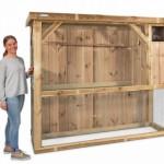 Volière Voldux R1 - Geïmpregneerd hout