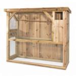 Volière Voldux R1 Geïmpregneerd hout 215x70x185cm