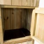 Volière Voldux R1 - Geïmpregneerd hout - nachthok