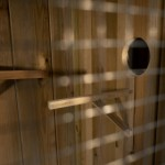 Volière Voldux R1 - Geïmpregneerd hout - zitstok en opening