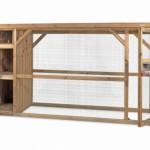Volière Voldux R7 Geïmpregneerd hout - ruime deuren