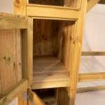 Volière Voldux R7 - Geïmpregneerd hout - nachthok