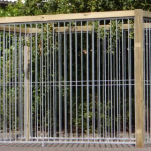 Kennel Wood 2x3 meter