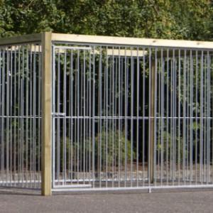 Houten kennel 2x3 meter