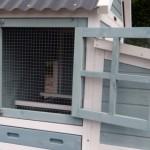 Kippenhok Ariane - nachthok deur