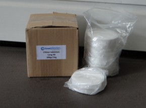 Chloortabletten long 90 200gr. 1 kg In zip-lock bag
