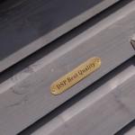 'DSP Best Quality' embleem op Hondenhok Dogsy Large