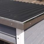 Hondenhok Dogsy Medium, met aluminium randen langs het dak