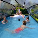 Zwembad overkapping EXIT 540x250 cm