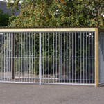 Hondenkennel wood 4x2 met dak