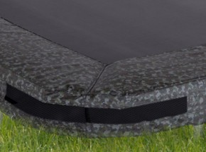 Avyna Pro-Line InGround trampolinerand voor rechthoek trampoline Camouflage