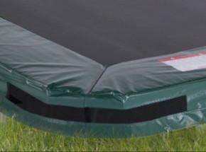 Avyna Pro-Line InGround trampolinerand voor rechthoek trampoline Groen