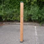 Afrasteringspaal Douglas voor harde ondergrond - groen 125 cm