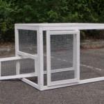 Aanbouwren Joas - konijnenren - kippenren