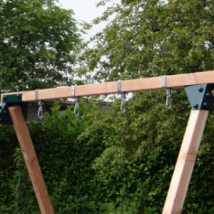 Frame met ophanghaken model rondom