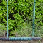 Nestschommel oval groen/zwart