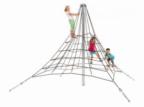 Piramide klimnet in gewapend touw 2,7m