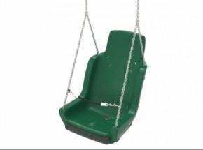 Kuipschommel voor personen met een handicap | Met ketting en veiligheidsketting Groen