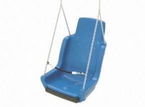 Kuipschommel voor personen met een handicap | Met ketting en veiligheidsketting | Blauw