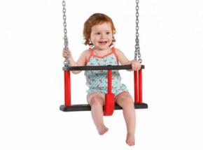Babyschommelzitje Basic Met gegalvaniseerde kettingen
