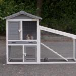 Konijnenhok Cato - goedkoop konijnenhok met ren