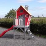 Speelhuisje Rosalie met glijbaan Tweeb