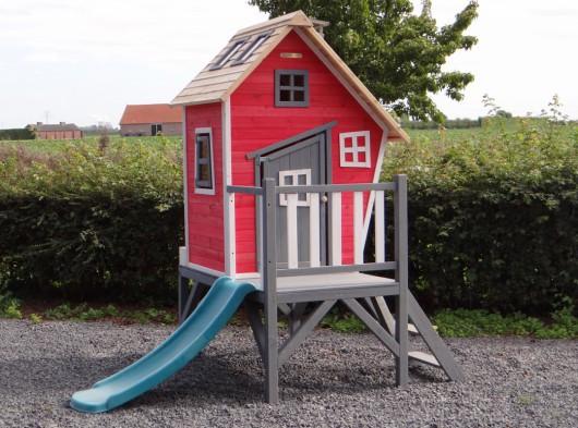 Speelhuis Rosalie met glijbaan 60