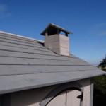 Speelhuisje Jasmine - houten dak met schoorsteen