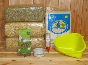 Voordeelstartpakket Basis voor konijnen en cavia's