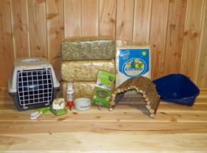 Voordeel start pakket Luxe voor konijnen en cavia's