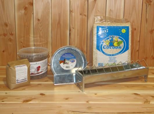 Voordeelstartpakket Basis voor kippen
