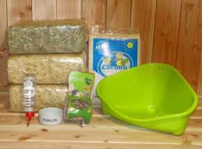 Voordeelstartpakket Basis | voor grote konijnen
