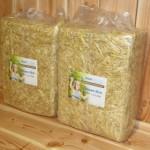 Voordeelstartpakket Basis voor grote konijnen - 2 pakken stro