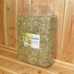 Voordeelstartpakket Basis voor grote konijnen - pak hooi