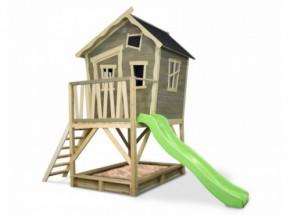 Speelhuis met glijbaan - Crooky 500  EXIT